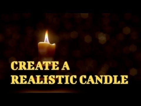 How to Make Realistic Candle in Blender