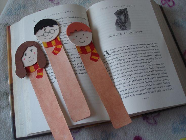 Marcalibros de Harry Potter. Harry Potter Bookmark's.