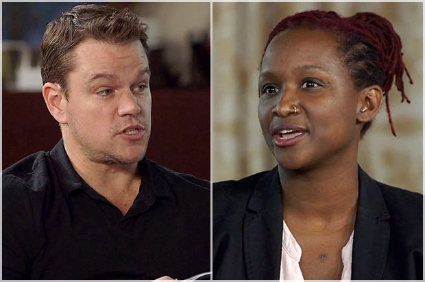 "Matt Damon's Staggering Meritocracy Lie: What His ""Project Greenlight"" Blow-Up With Effie Brown Really Shows - ""The merit card is the white equivalent of a race card – it is the highest trump card, in a game of spades. Merit is the supposedly race neutral rubric that everyone should naturally agree is the best way to judge candidates, all questions of race aside... The United States was not built on a system of meritocracy. It was built on a system of denied access."""