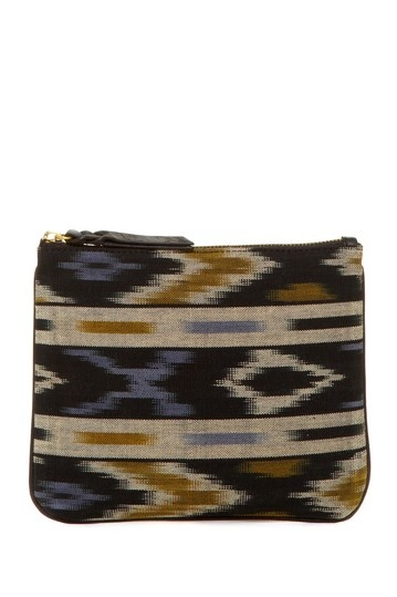 Cynthia Vincent Ikat Print Pouch, love this!!