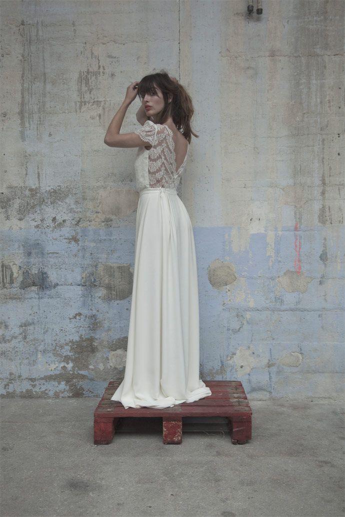 Robes de mariée - Elise Hameau - Collection 2017 | Modèle: Nine | Photographe…