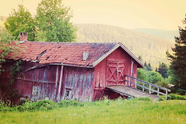 Old barn  ♡ Sweden  ♡ Åre  ♡