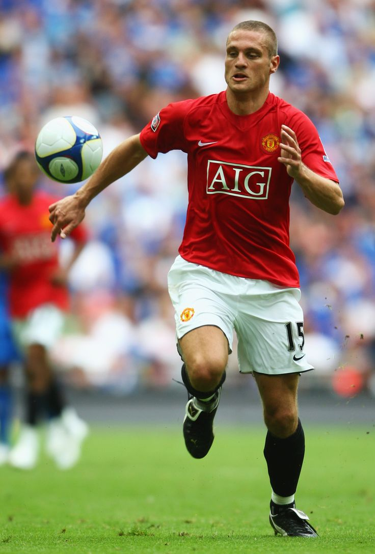 Nemanja Vidić, Manchester United Player of the Year 2008/09.