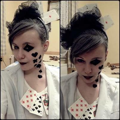 #poker #halloween #costumes #makeup #creative