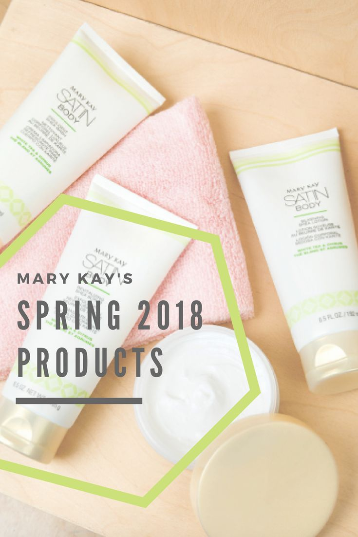 Learn about Mary Kay's Spring 2018 product launch! Newly designed brushes, introducing Satin Body Collection, and (not mentioned in the video) After-Sun Replenishing Gel and Subtle Tanning Lotion are back for a limited time! || #MaryKay #Spring2018 #NewProducts