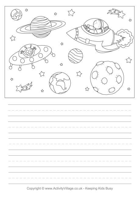 Space story paper