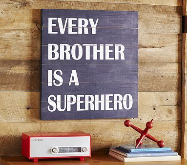 I am totally getting this for my brother, Robbie, for his upcoming birthday... It's perfect because he really IS a superhero.... :) Every Brother is a Superhero #pbkids