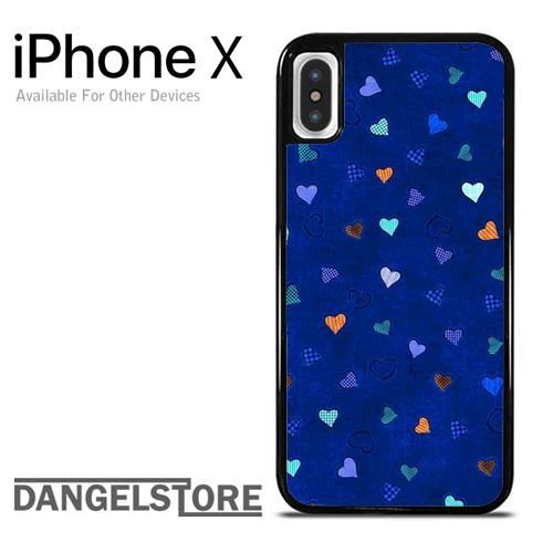 Heart in Blue For iPhone X