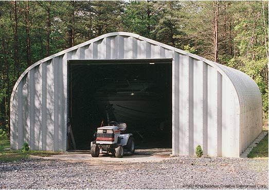 Garageone metal garage kit pinterest for Boat garage kits