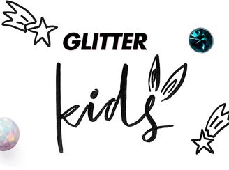 Gavekort Glitter/ ting fra glitter