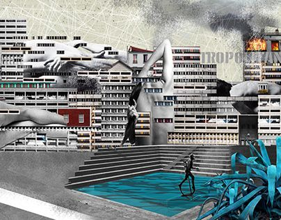 """Check out new work on my @Behance portfolio: """"Skin City"""" http://be.net/gallery/60888775/Skin-City"""