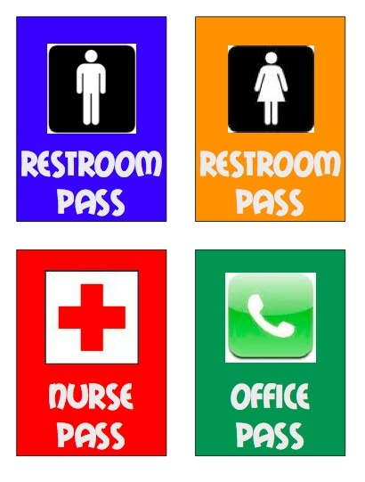 25+ best ideas about Restroom pass on Pinterest | Noise levels ...