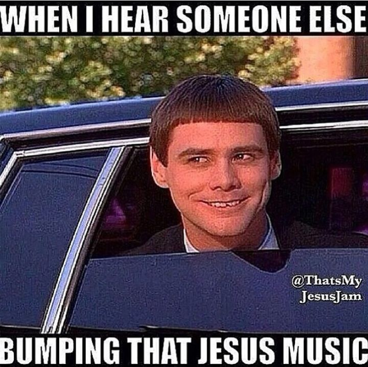 """Ha! I heard that one time and was like """"AYEEE, that's my song, my band, and They praising my Lord!!!"""""""