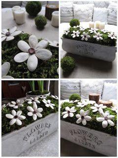 Blogerka Pavla využila květináče naše opravdu dokonale. Překrásné dýňové kvítky v mechu na florexu. :-)
