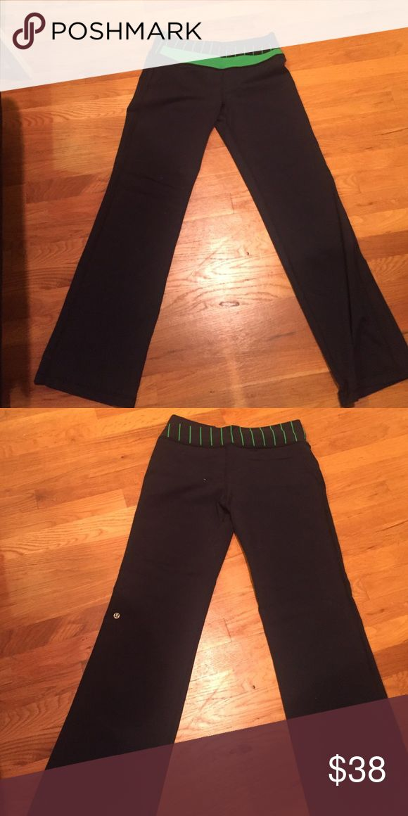 Women's lulu pants Women's lulu pants in good condition. Have some pilling but otherwise excellent condition. Comfy for any occasion. lululemon athletica Pants Track Pants & Joggers