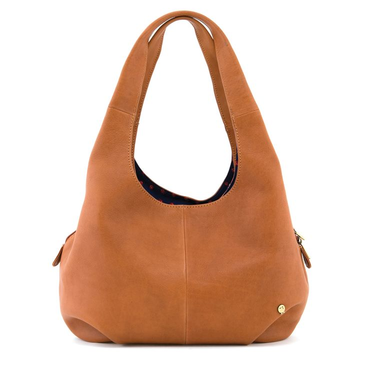 The Meehan Tan Leather Shoulder Bag by Yoshi