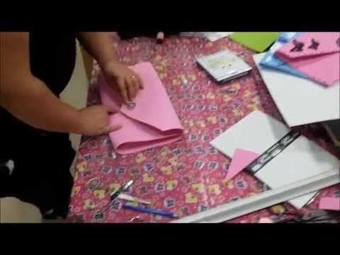 Tutorial borsa porta documenti - YouTube