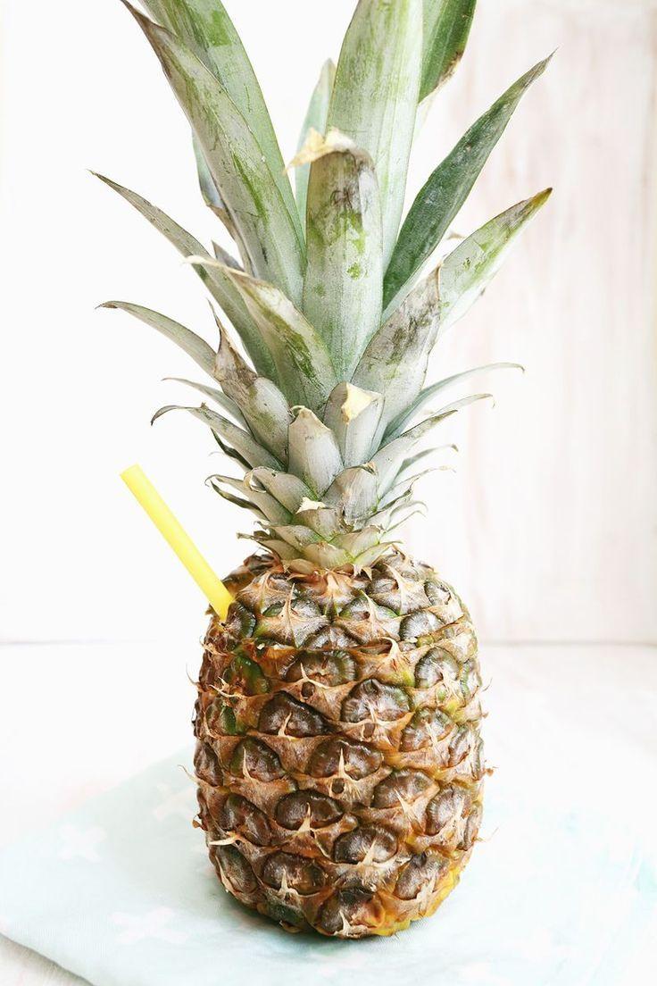 Pineapple drink! Yes please!