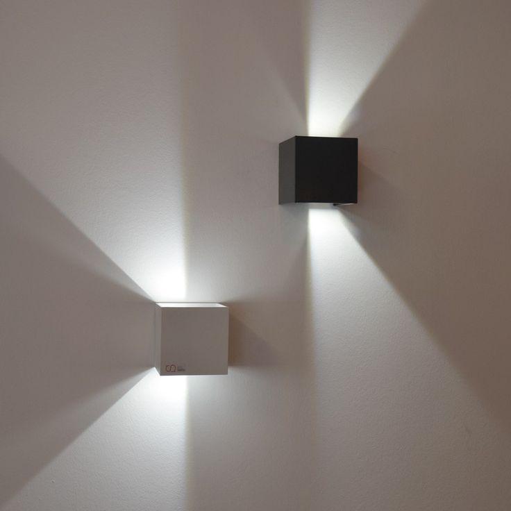 Best SKAPETZE Ixa LED Wandleuchte verstellbare Winkel anthrazit Innenleuchten Wandleuchten Mehr