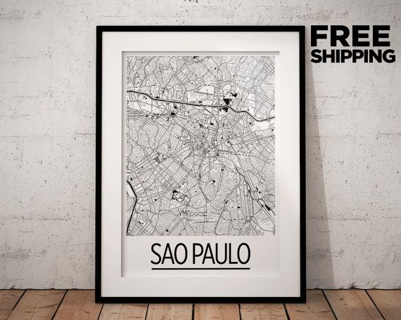 Best Sao Paulo Map Ideas On Pinterest Sao Paulo Brazil Map - Maps of planes shipping goods us to brazil