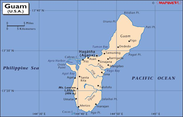 americas relationship with guam