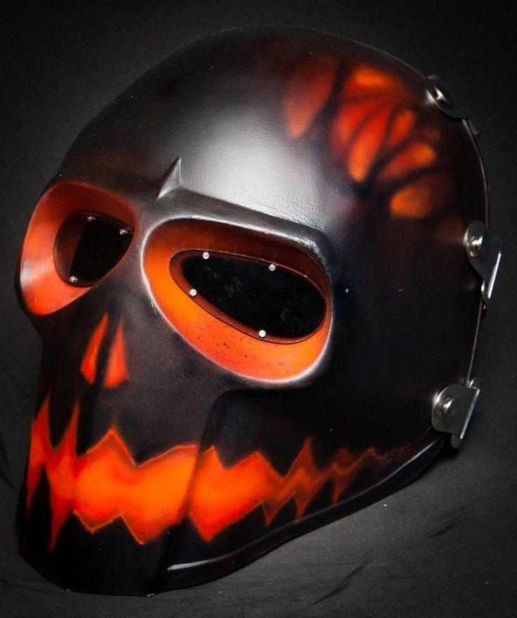 Pumpkin mask - satin finish 0cz2zFyiw8