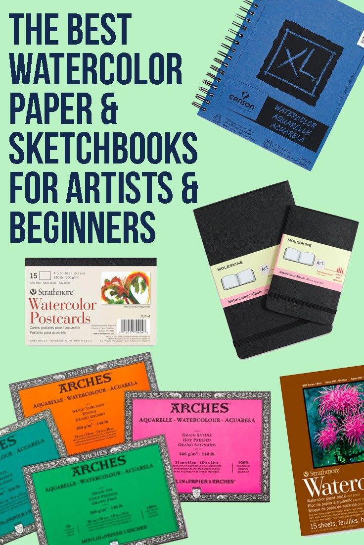 Best Watercolor Paper Watercolor Sketchbooks For Artists