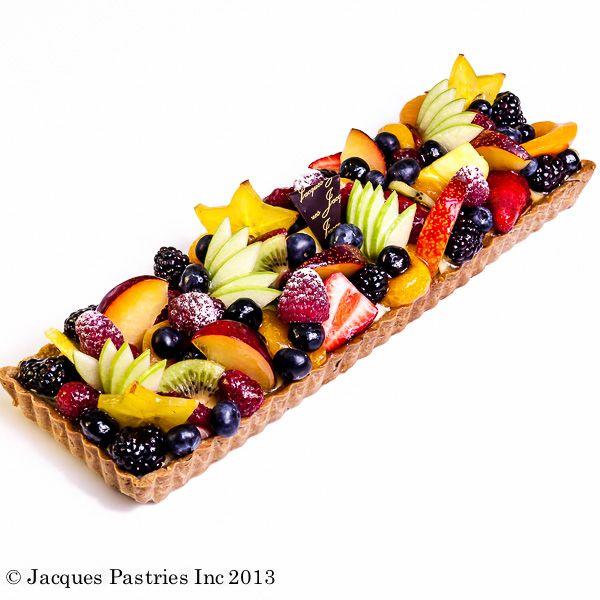 Fresh Fruit Bar Tart