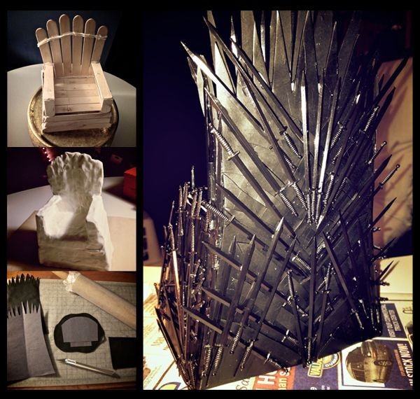 84 best images about party game of thrones on pinterest for Buy iron throne chair