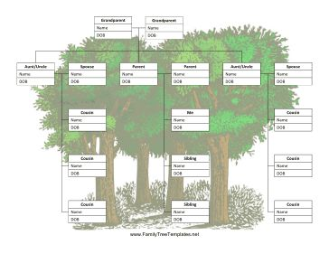 15 best Family Tree Templates images on Pinterest | Genealogy ...