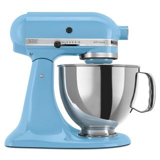 KitchenAid KSM150PSCL Crystal Blue 5-quart Artisan Tilt-Head Stand Mixer *with Rebate* | Overstock.com Shopping - Big Discounts on KitchenAid Mixers