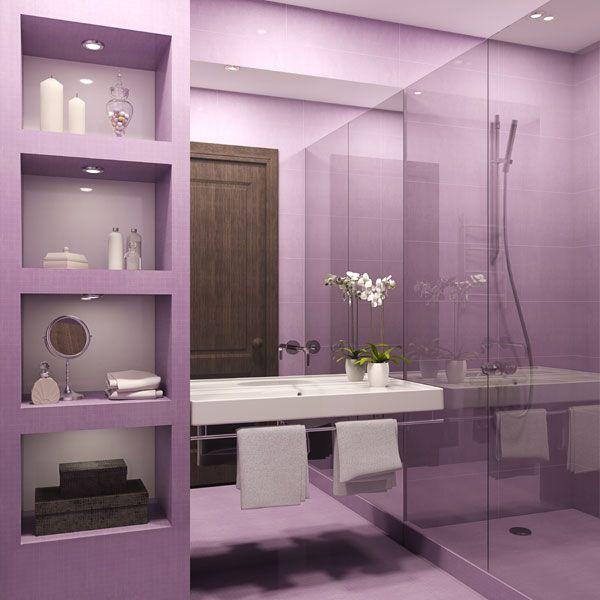 beautiful purple bathroom ideas