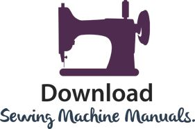 Sewing Machine Instruction And Service Manuals
