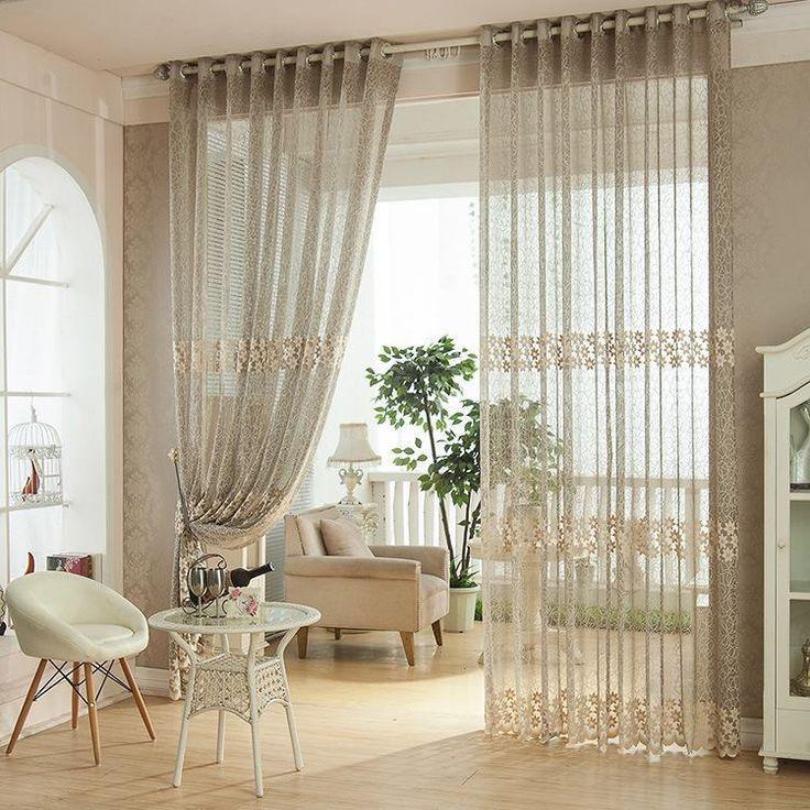17 melhores ideias sobre cortinas longas no pinterest ...