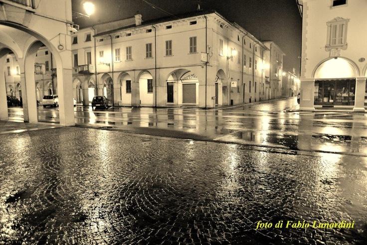 Cortemaggiore by night - Foto Fabio Lunardini