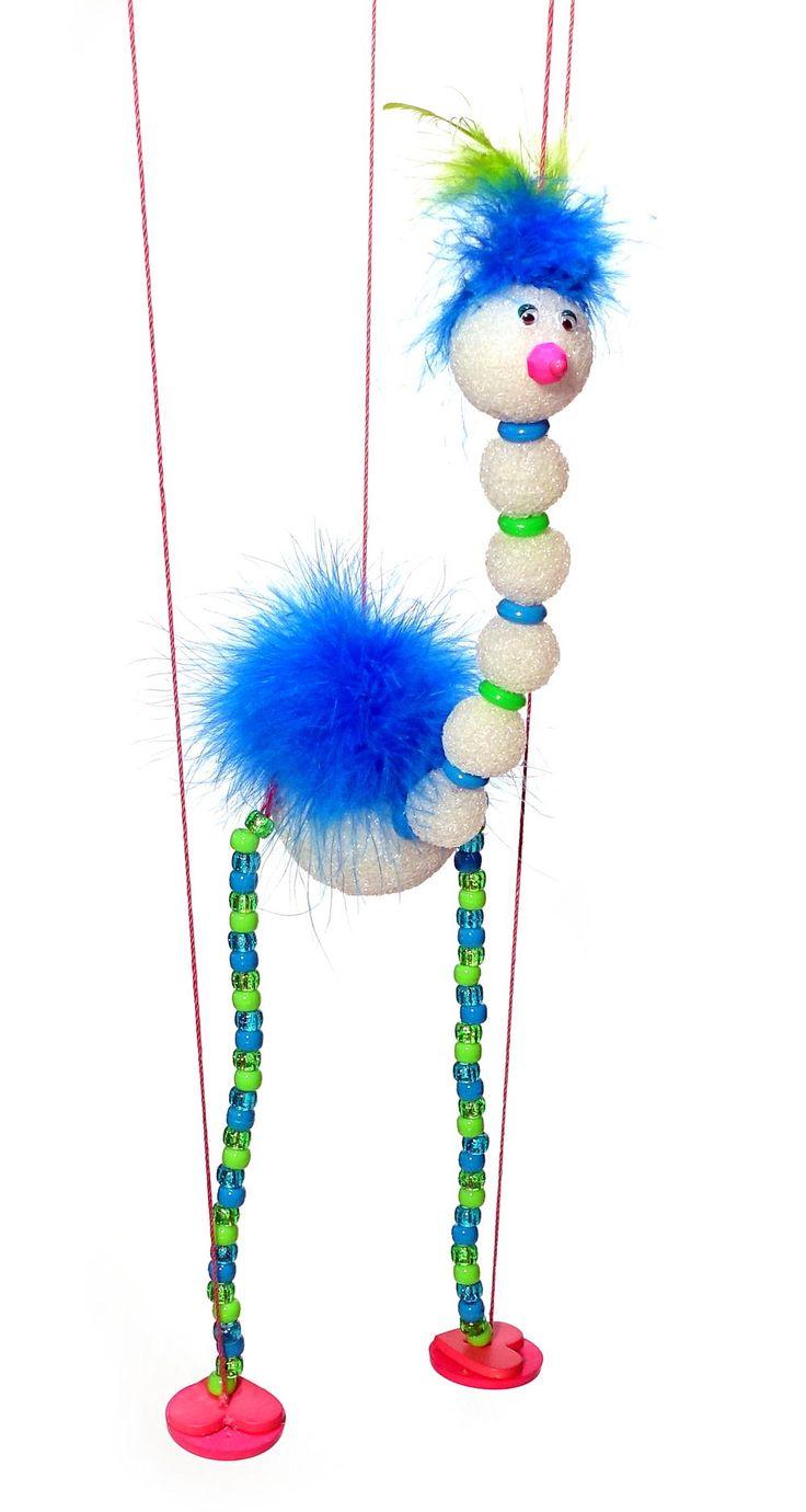 Loonie Bird Marionette | FaveCrafts.com