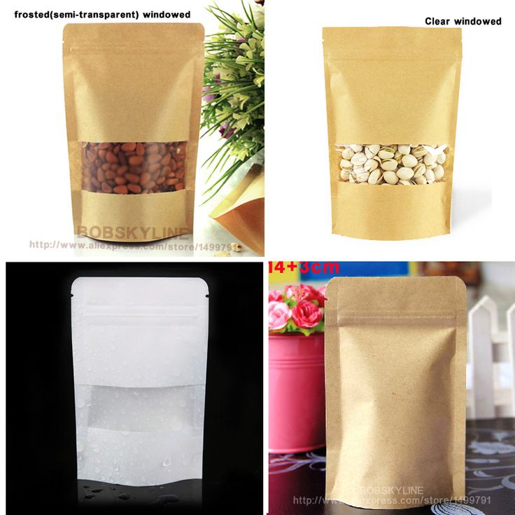 ==> [Free Shipping] Buy Best eKangbuy 100pcslot- stand kraft paper bean party gift bag Online with LOWEST Price | 32303885940
