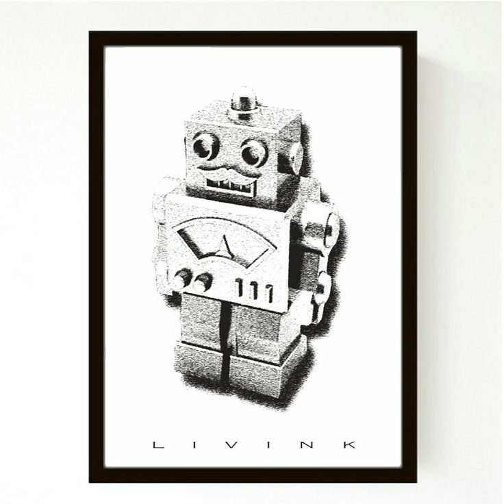A4 - forudbestilling - robot via LIVINK. Click on the image to see more!