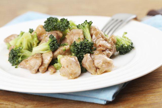 Especial receta de pollo con brócoli.
