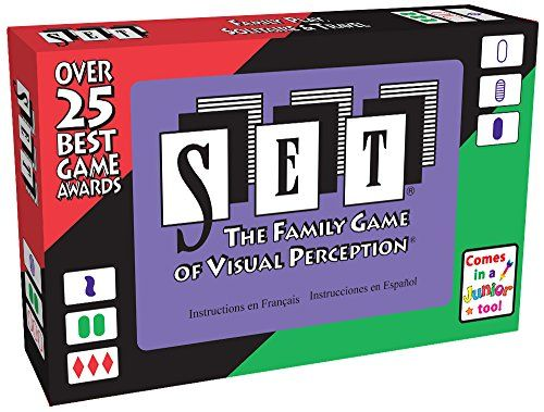 Set: The Family Game of Visual Perception (Cover art may vary) SET Enterprises http://www.amazon.com/dp/B00000IV34/ref=cm_sw_r_pi_dp_KWvvwb149WVB6