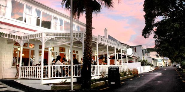 The historic Duke of Marlborough Hotel on Russell's waterfront. Photo / Supplied