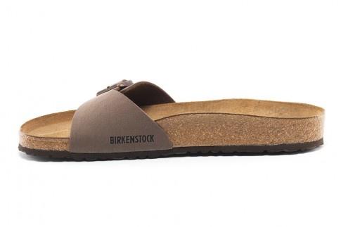 birkenstock madrid mules homme birko flor nubuck brun mocca nos accessories. Black Bedroom Furniture Sets. Home Design Ideas