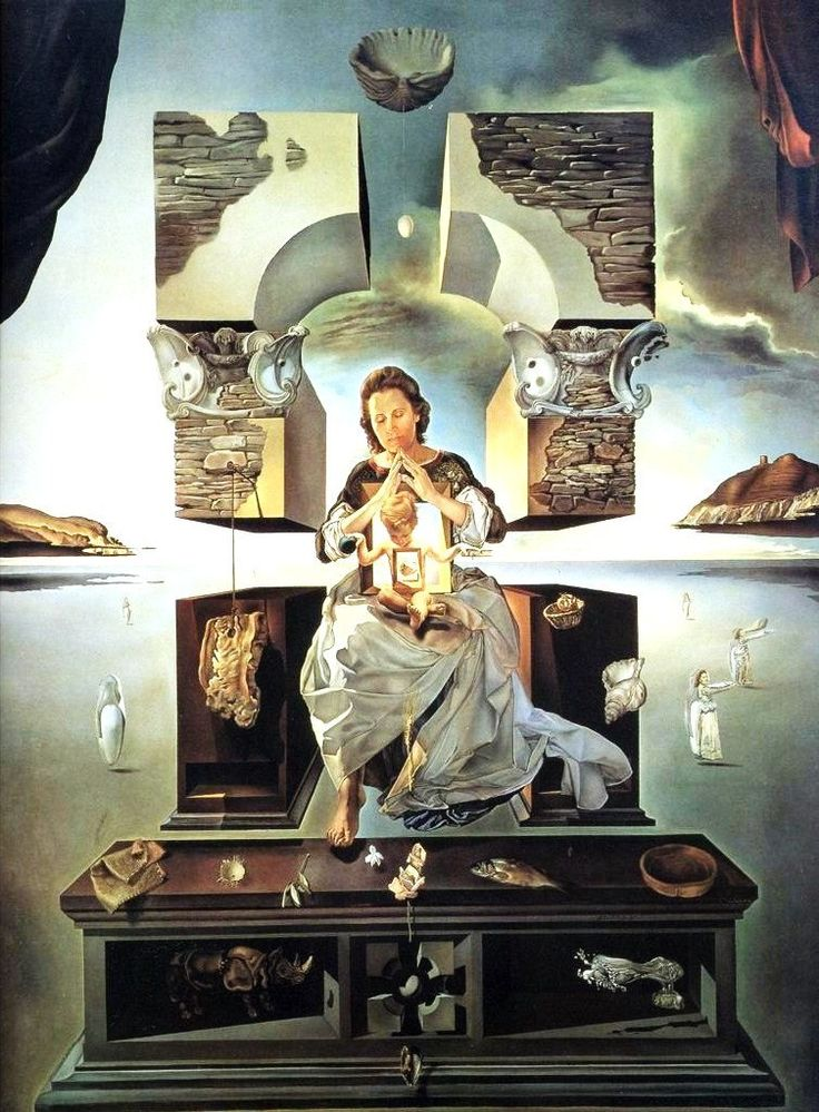 Dali | The Madonna of Port Lligat (1950, Salvador Dali ...