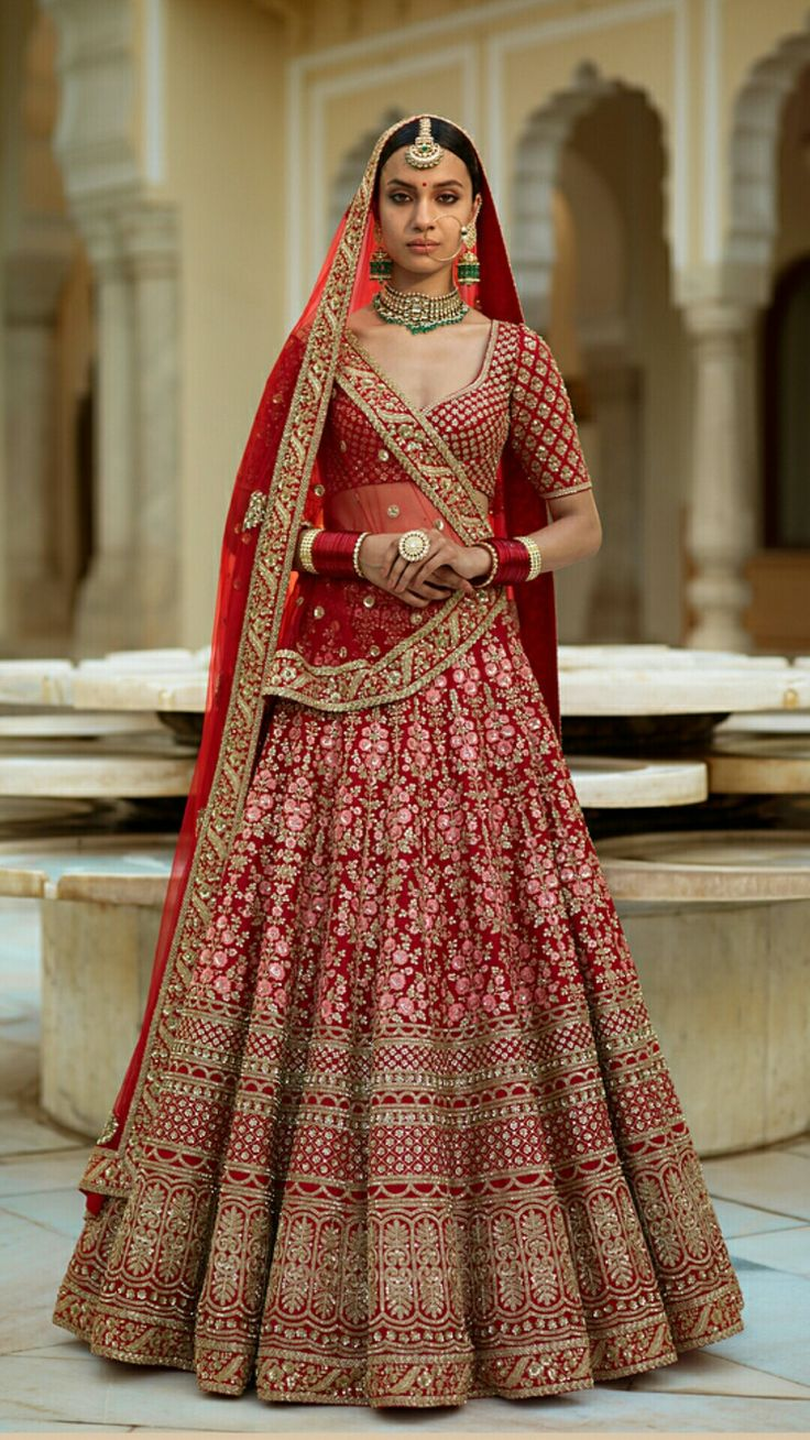 Best 25 Indian Bridal Wear Ideas On Pinterest Bride And Wedding