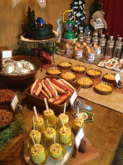 Camping Party Food #camping #partyfood
