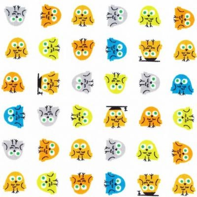 happy drawing owls kf