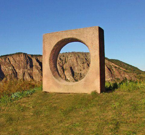 Great Lochluft Roter Pf lzer Sandstein x x cm Foto