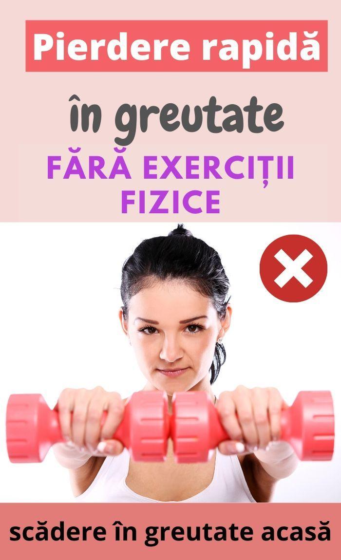puteți pierde în greutate doar din greutăți)