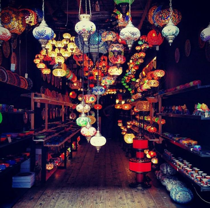 Moroccan lanterns - Camden market