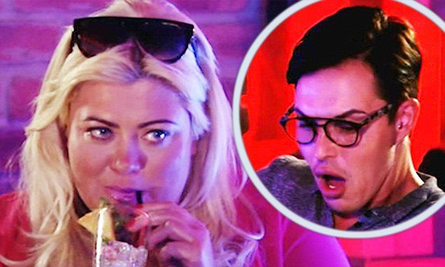 Dramatic scenes on Sunday night's episode of TOWIE see Bobbystorm off after he has another explosive row with Gemma Collins at a packed bar in London.